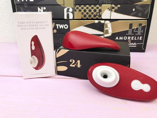 Amorelie Adventskalender 2019 - Inhalt - Druckwellenvibrator Womanizer Liberty