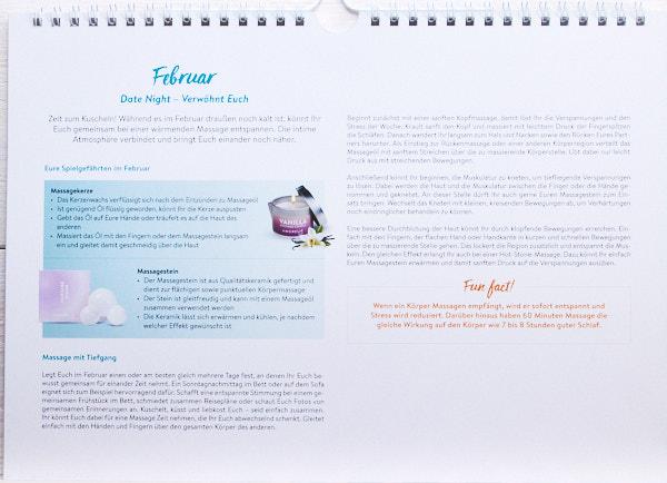 Amorelie Jahreskalender